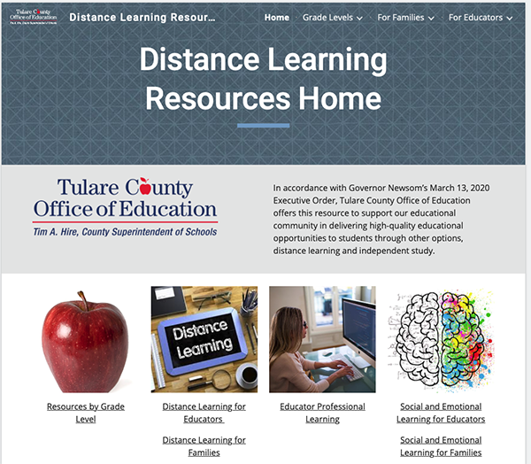 tcoe-distance-learning-website