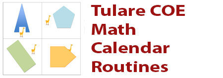 math-tcoe-calender-routines